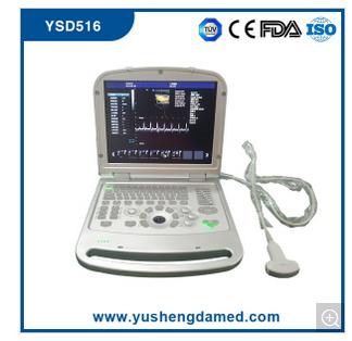 Full Digital Laptop 4D Color Doppler Ultrasound Scanner Ysd516