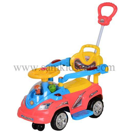 fresh style toddler ride on swing car 618-BH1