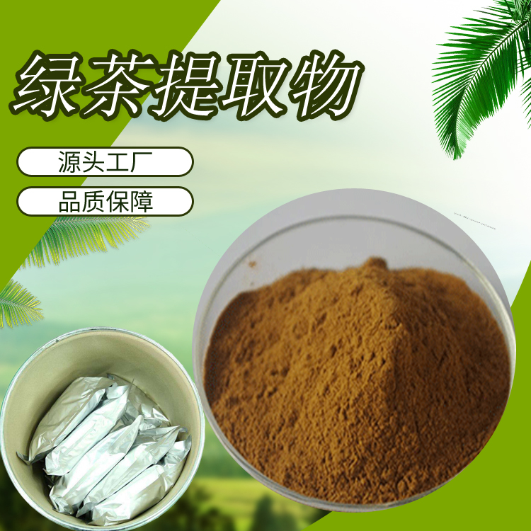 Green Tea Extract 50%-98% Theaflavin Raw Materials of Green Tea Polyphenols