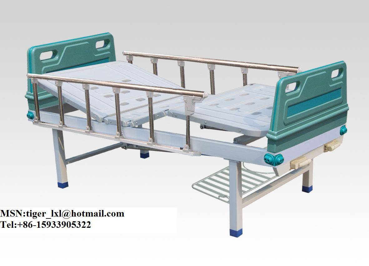 Double shakes hospital bed  A-46