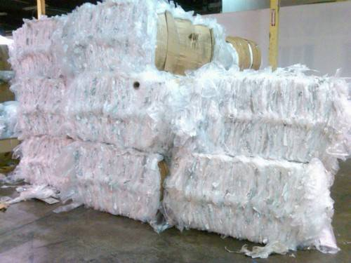 LDPE Film Scrap, 100%  Clean and Clear