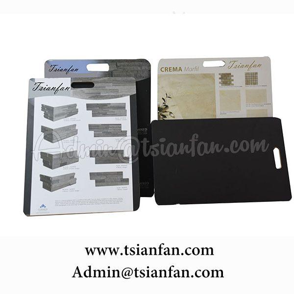 MDF Handhold marble merchandising board PS601
