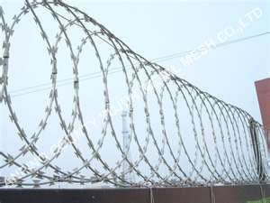 Hot Sell Razor Wire Flat Wrap Fence