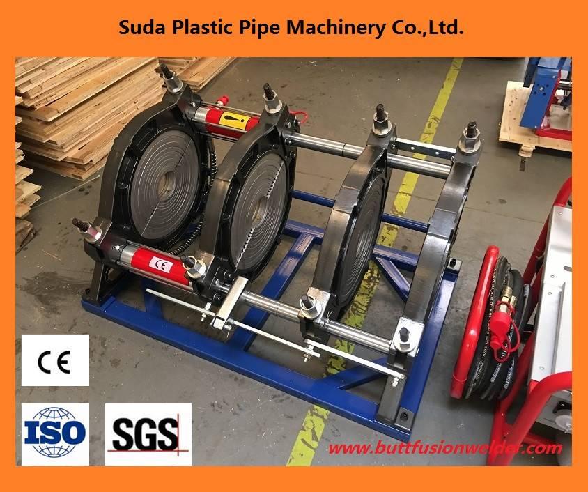 SUD355H hdpe pipe welding machine
