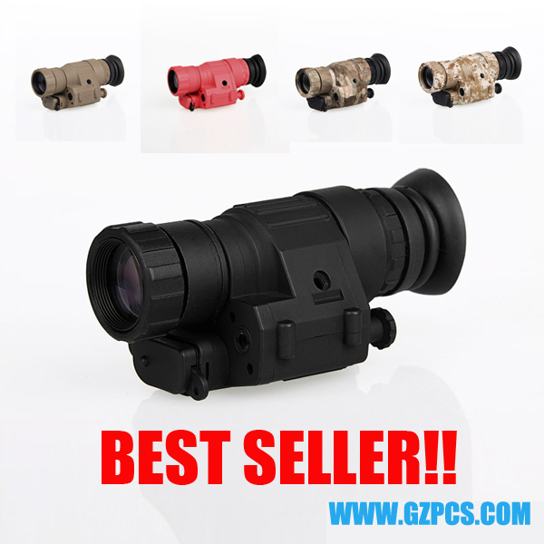 China hunting equipment military tactical optic monocular scope PVS 14 digital infrared night vision
