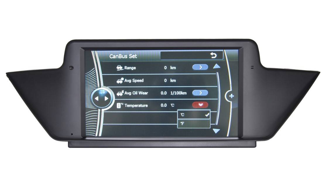 Touch Screen Car DVD Player GPS For BMW X1 Series,E3032