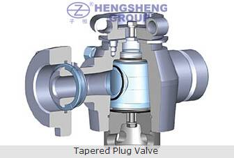 API 6A Tapered Plug Valve For Connecting X-mas Tree