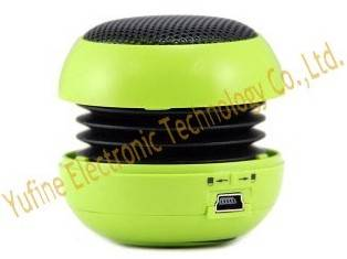 Hot selling mini hamburger speaker,  metal net hamburger speaker factory, wholesales gift mini speak