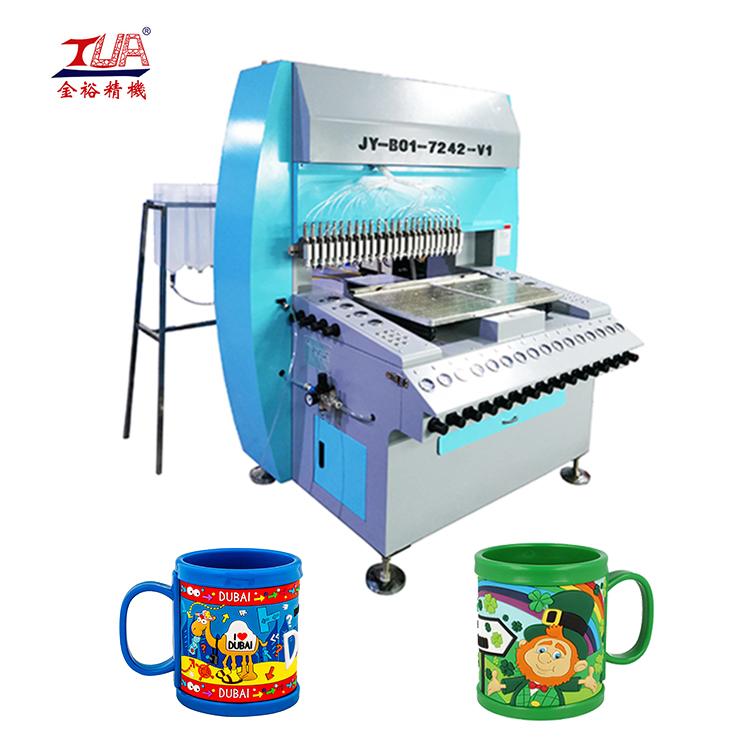 JinYu 24 heads soft Pvc Mug dispensing Machine