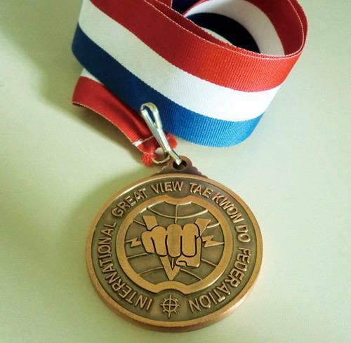 Custom soft enamel souvenir metal medals
