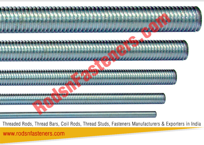 Threaded Rods Exporters in India