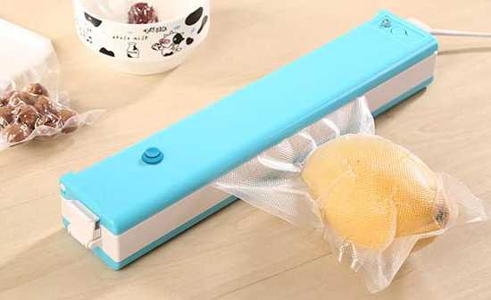Household vacuum food sealer