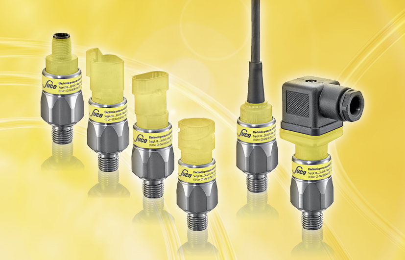 "SUCO Electronic pressure switches, ""Performance"""