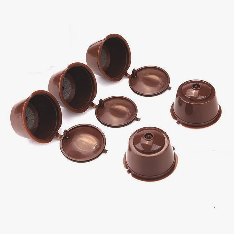 Refillable Reusable Coffee Capsules For Dolce Gusto Brewers Refill Cup Filter