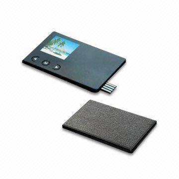 1.5inch credit card digital photo frame
