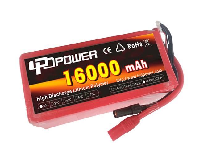 LPD 16000mAh/20C-6S