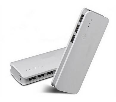 10000mAh 3 USB Port Portable External Battery Charger Power Bank