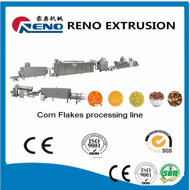 puff corn flakes production line
