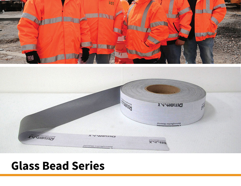 Reflective Tape Glassbead tape ISO20471 reflective safety workwear