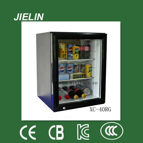 40L high quality  silent hotel absorption mini bar fridge