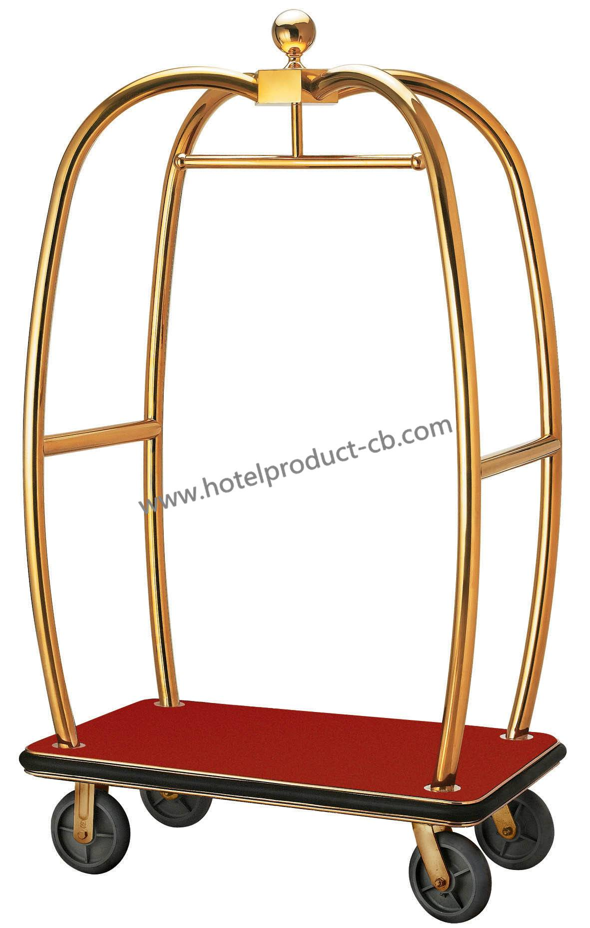 old style high quality luggage trolley