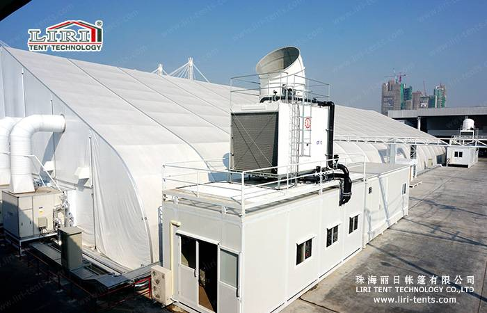 40×90m Curve Tent TFS Tent for 4000 People Event Tent