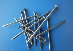 Common polishing iron nail