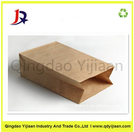 Shopping kraft paper bags without handle