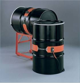 silicone heater for oil drum heating using