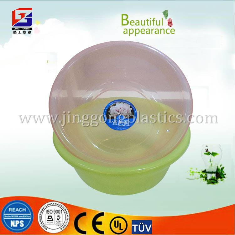PP large plastic basin manufactorer for Christmas day promotion