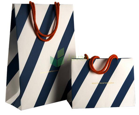 Art Paper Luxury Retail Carrier Bags