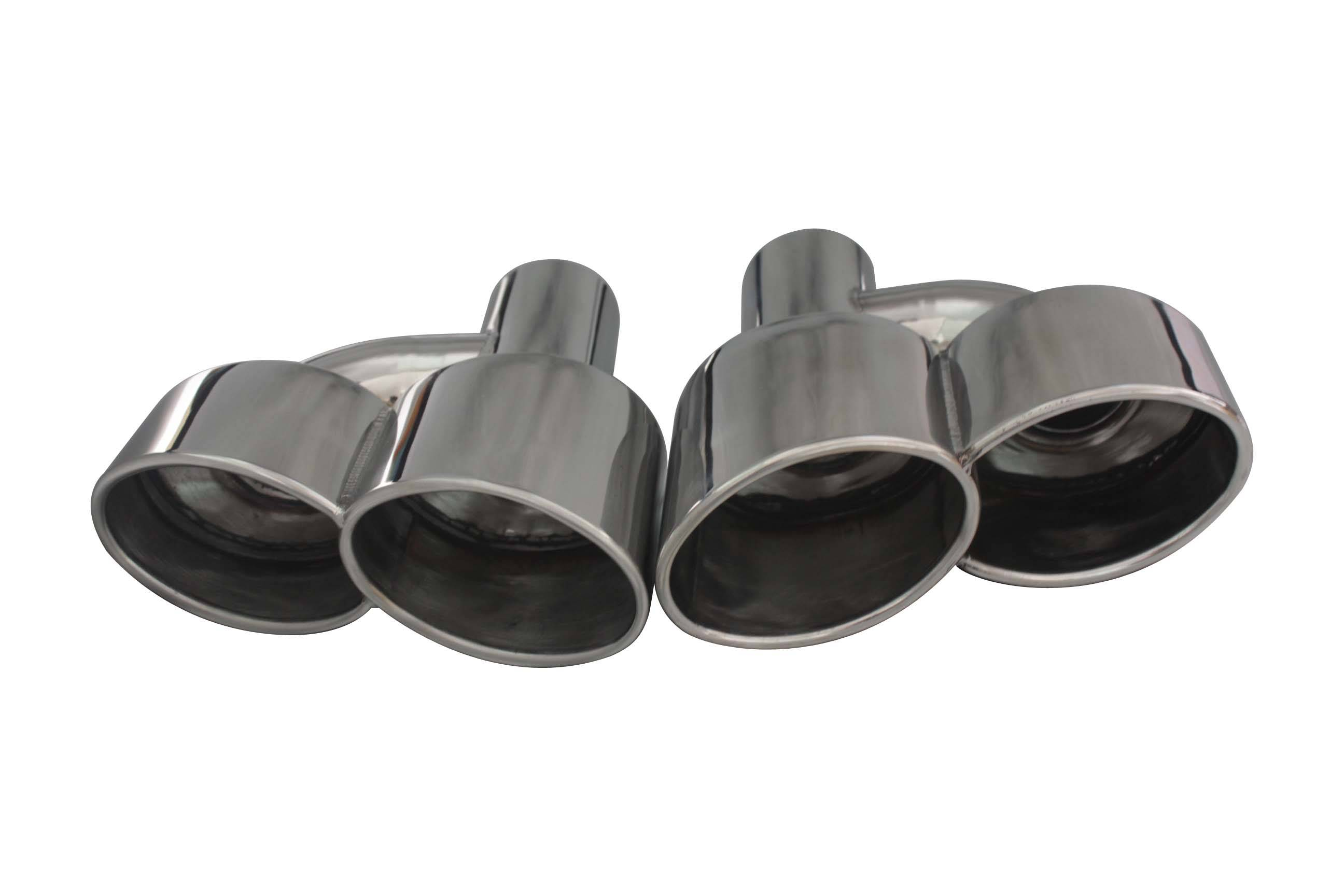 W221 W212 W204 W219 W218 Exhaust Tips Muffler Tail Pipe for Mercedes AMG S65 / S63