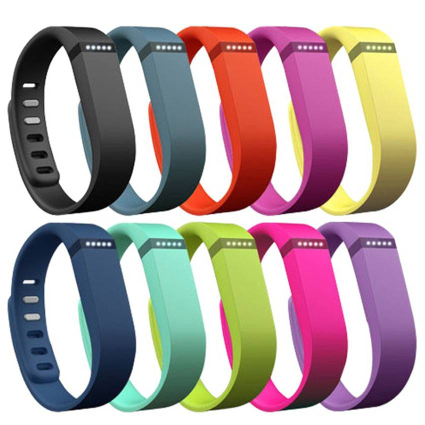 Replacement Wrist Band And Clasp For Fitbit Flex Bracelet Silicone Gift Watch Different Strap Wristb