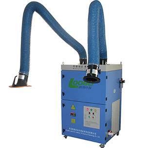 LB-JZX Portable welding fume extractor with double cartridge filters, Laser and plasma cutting smoke