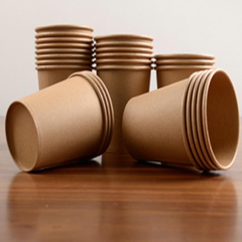 disposable kraft paper cup waterproof