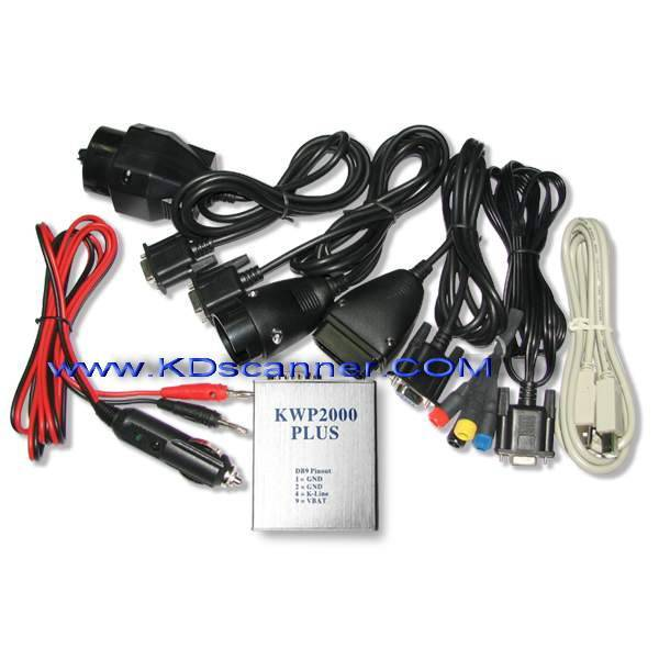 KWP 2000 ECU can bus x431