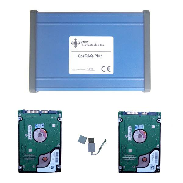 J2534 CarDAQ Plus Reprogramming Tool For Benz and BMW