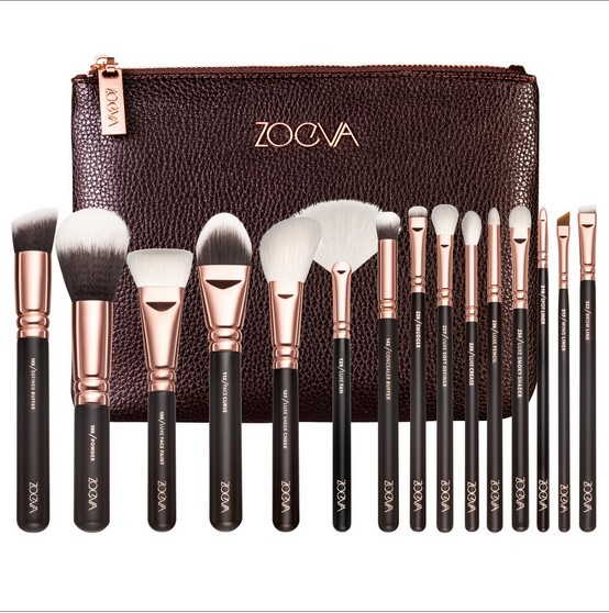Hot Sale Professional Zoeva Golden Brush 15PCS/Set Long Lasting Toothbrush Makeup Brush