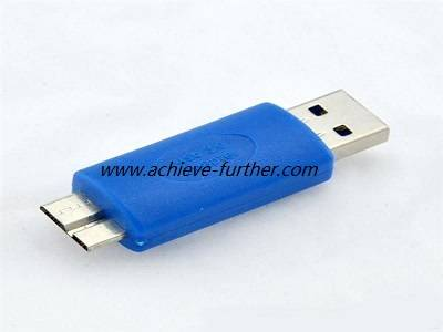 USB 3.0 Type A Male to Micro USB 3.0 Adapter