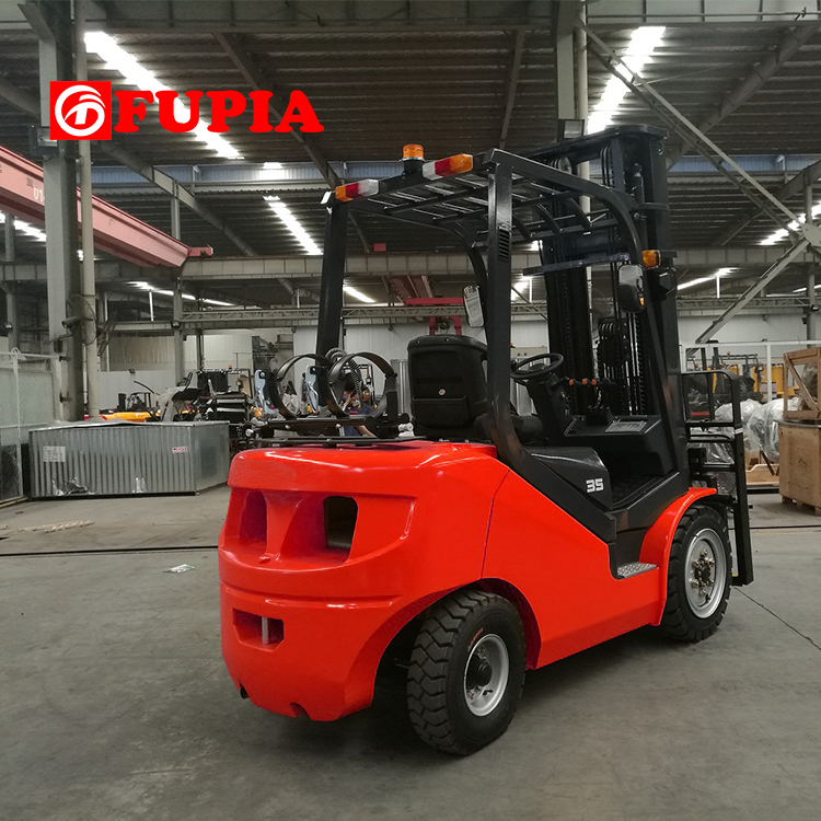 FUPIA forklift 3.5ton gas propane forklift with CE certificate