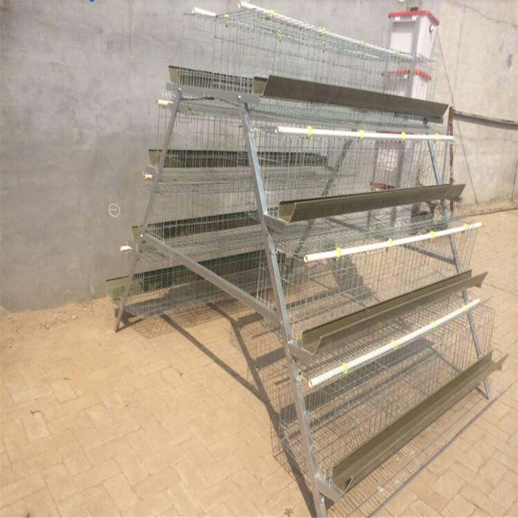 Galvanized Layer Chicken Cages