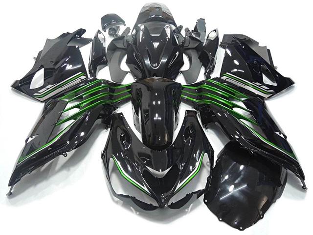 ninja zx-14r 2012 to 2016 whole set original replacement fairing Black racing body kits