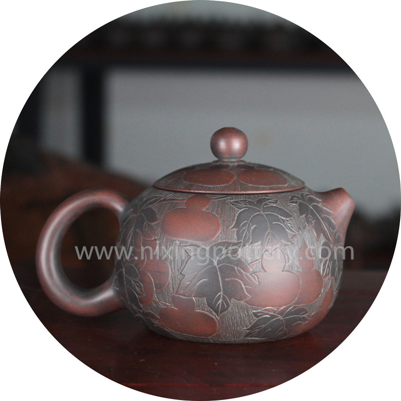 Ceramic Teapot Xi Shi Teapot Handmade Tea Pot Kung Fu Tea Pot Nixing