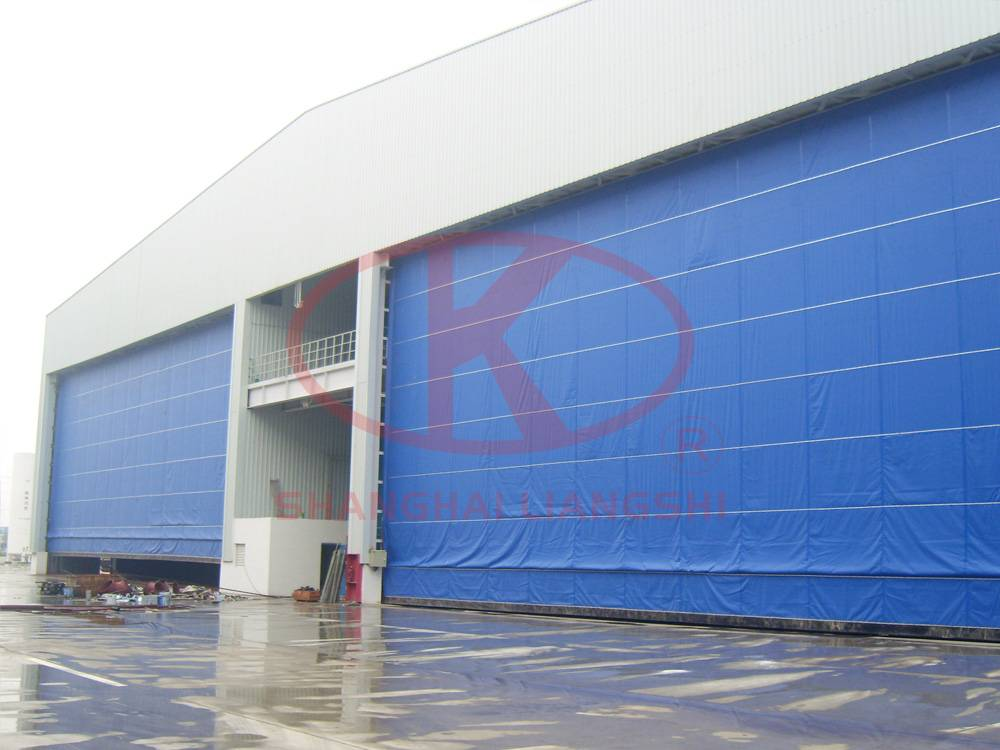 Sandblasting And Painting Room For Steel Structural Parts
