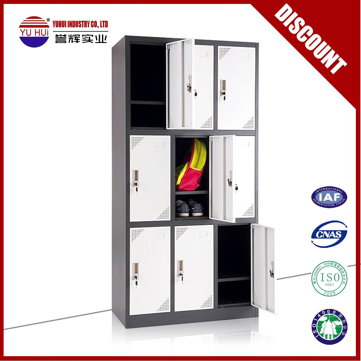 high quality gym locker for fitness center use