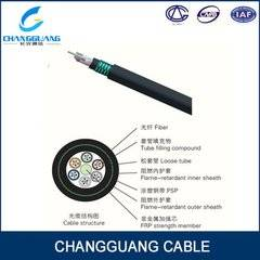 Gjfzy53-Fr Fire Resistant Fiber Optic Cable Good Crush Resistant PSP Enhancing Moisture-Proof G652D