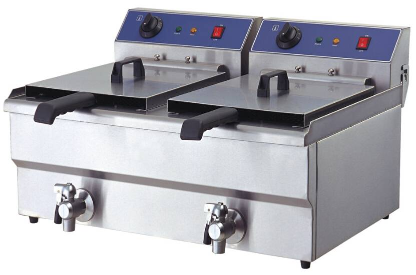 Professional Manufacturing CE Commercial Electric Deep Fryers