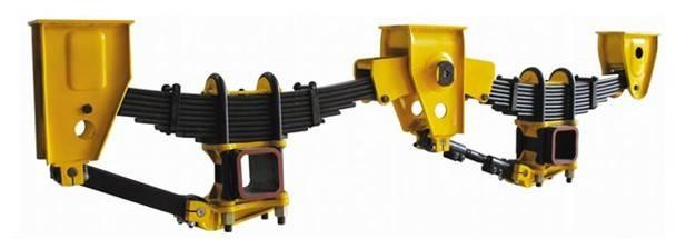 Mechanical Suspension semi trailer Amercian/Germany