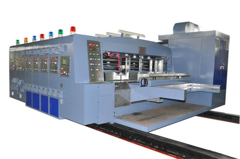 GIGA LXC-308 Automatic 4 color flexo printing machine for carton