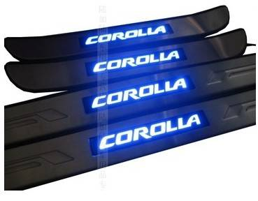 TY1056A-Door Sill With Light For Toyota Corolla 10-12